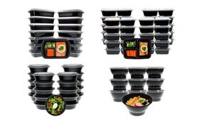 Meal Prep Lunch Box, Containers with Lids (20-, 30
