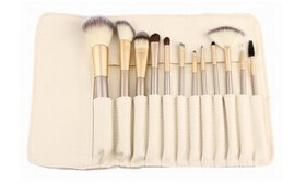 Professional Makeup Brush Set with Storage Case (1
