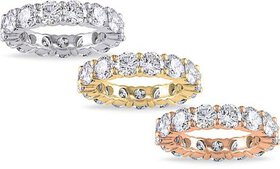 6.00 CTTW Cubic Zirconia Eternity Band by Elements