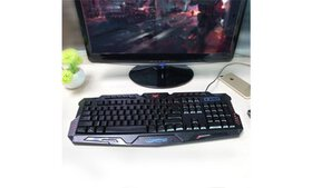 Wired Gaming Keyboard with 3 Color Backlight