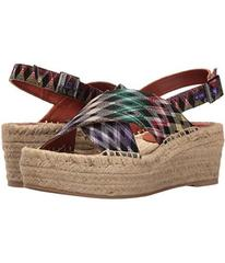 Missoni Printed Cross Band Flatform