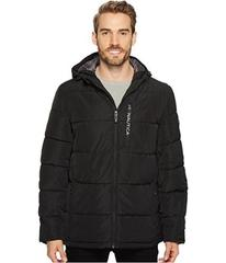Nautica Quilted Hooded Puffer