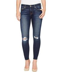 7 For All Mankind The Ankle Skinny w/ Knee Holes i