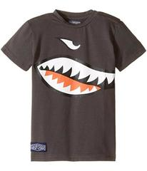 Toobydoo Shark Mouth T-Shirt (Infant/Toddler/Littl