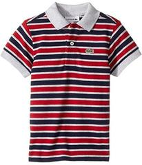 Lacoste Short Sleeve Small Multi Stripe (Infant/To