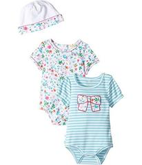 Kate Spade New York Bodysuits and Cap Set (Infant)