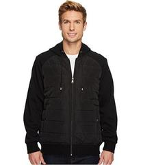 CHAPS Mix Media Hoodie w/ Insulated Seams