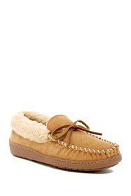 Minnetonka Corey Trapper Faux Fur Lined Slipper (M