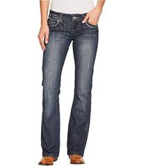 Stetson Stetson 818 Fit Medium Wash with Fancy Con