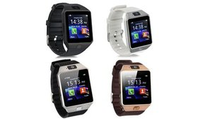 Bluetooth Smart Watch Touch Screen with Camera Sup
