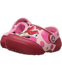 Crocs Kids FunLab Lined Minnie Clog (Toddler/Littl