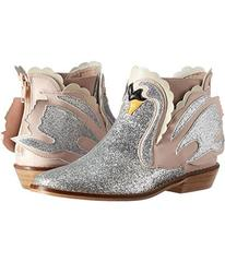 Stella McCartney Lilly Glittered Swan Ankle Boots