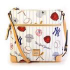 Dooney & Bourke Yankees Crossbody - White