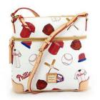 Dooney & Bourke Phillies Crossbody - White