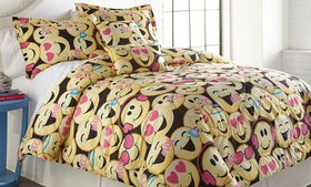 Emoji Collection Printed Comforter Set (4-or 5-Pie