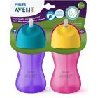 Philips Avent My Bendy Straw Toddler Cup, 10oz, 2-