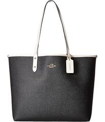 COACH Solid Reversible City Tote