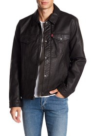 Levi's Classic Trucker Faux Leather Jacket