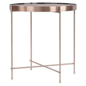 Ritz Side Table - Rose Gold - urb SPACE