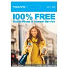 FreedomPop Nationwide 4G LTE 3-in-1 Basic Free SIM