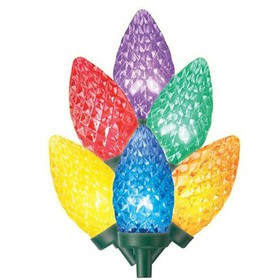 Philips® 80ct LED C9 Faceted String Lights- M
