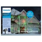 Philips Christmas Red and Green Laser Projector wi