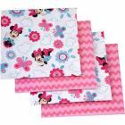 Disney Minnie Mouse Happy Day Flannel Blanket, 4-P