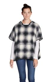 Women's Fast Fleece Poncho