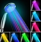 Coby LED Color Changing handheld Showerhead with H