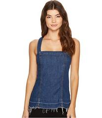 7 For All Mankind Tank Top w/ Released Step Hem in