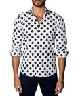 Jared Lang Polka-Dot Sport Shirt