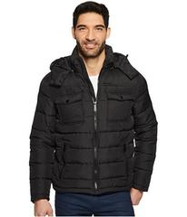 Kenneth Cole New York Hooded Puffer with Patch Poc
