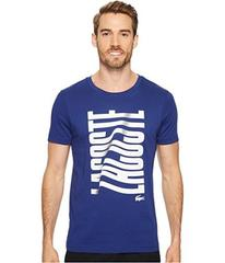 Lacoste Short Sleeve Vertical Lacoste Graphic T-Sh