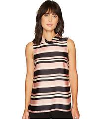 Vince Camuto Sleeveless Modern Chords Roll Neck Tu