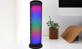 ZTECH Wireless Bluetooth Tower Speaker with LED Li