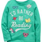 Rather Be Reading Jersey Tee