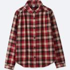 GIRLS FLANNEL LONG-SLEEVE SHIRT