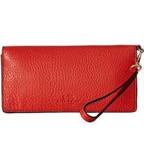 COACH Pebbled Leather Slim Wallet