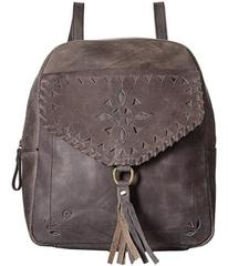 Born Amherst Distressed Perforated Backpack