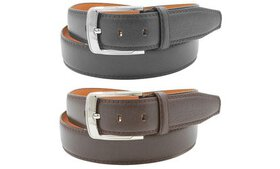 Men's Leather Belts (2-Pack)