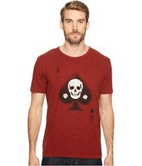 Lucky Brand Skull Ace Graphic Tee