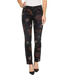 7 For All Mankind Roxanne Ankle w/ Raw Hem in Prin