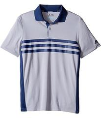 adidas Golf 3-Stripes Chest Print Polo (Big Kids)