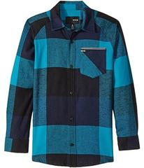 Hurley Kids Flannel Long Sleeve Raglan Top (Big Ki