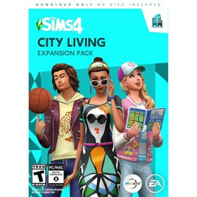 The Sims 4 City Living Expansion Pack PC Game