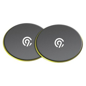 Gliding Core Discs 2pk with Exercise Guide - C9 Ch
