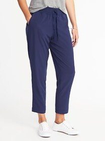 Mid-Rise Semi-Fitted All-Day Pants for Women