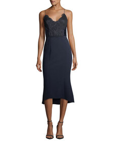 Camilla & Marc Ricci Fit-and-Flare Sleeveless Cock