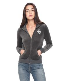 Juicy Couture Encrusted JC Velour Robertson Jacket