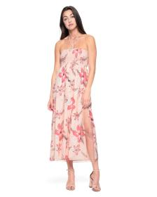 Juicy Couture Hidden Cove Floral Strappy Midi Dres
